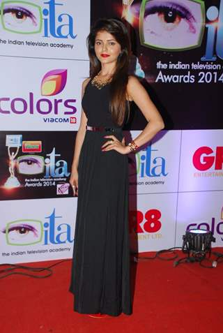 Rubina Dilaik was at the ITA Awards 2014
