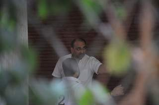 Aditya Chopra attended the Last Rites for Ravi Chopra