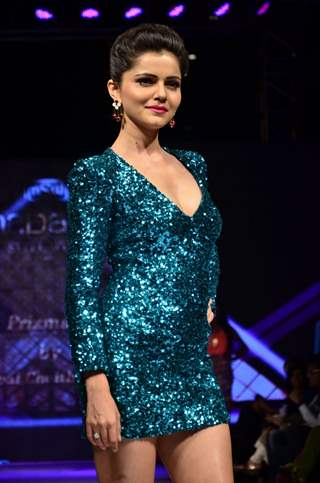 Rubina Dilaik was at the Madame Style Week