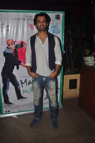 Barun Sobti was at Main Aur Mr. Riight's Bash