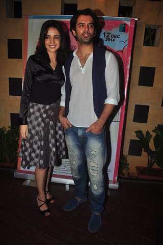 Sanaya Irani and Barun Sobti were at Main Aur Mr. Riight's Bash