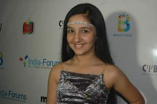 Ashnoor Kaur poses for the camera at India-Forums 11th Anniversary Bash