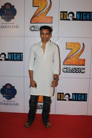 Abhijeet Sawant poses for the media at the Celebration of 75 years of Musical Genius - R.D. Burman