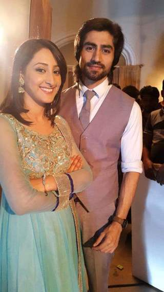Harshad Chopra with Shivya Pathania