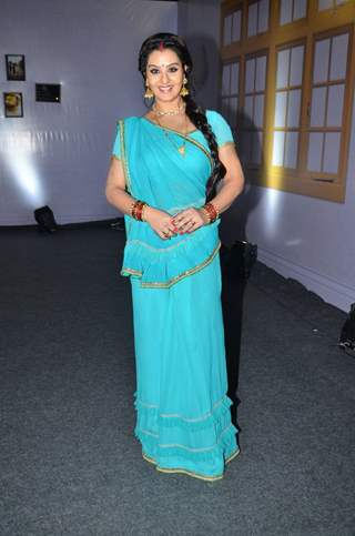 Shilpa Shinde poses for the media at the Launch of '& TV'