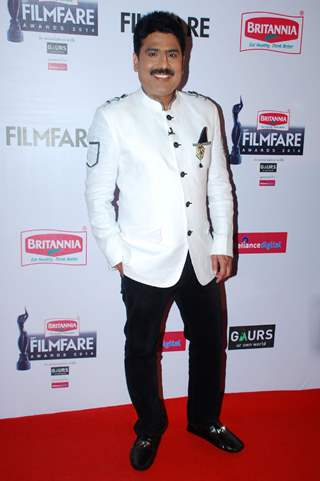 Sailesh Lodha was seen at the 60th Britannia Filmfare Awards