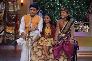Spandan Chaturvedi and Siddharth Nigam on Comedy Nights With Kapil Mahashivratri Special