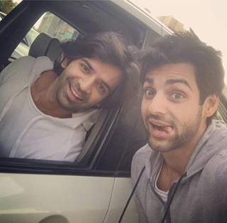 Barun Sobti with Karan Wahi