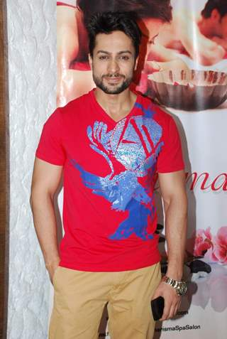 Shaleen Bhanot poses for the media at Charisma Spa