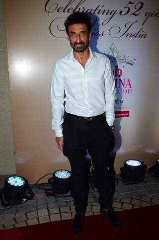 Rahul Dev poses for the media at Femina Miss India 2015 Bash