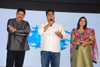 Ram Kapoor interacts with the audience at the Launch of Dil Ki Baatein
