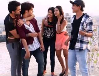Parth samthan with fab5