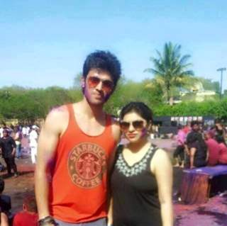 Parth Samthaan with his sister