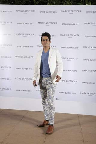 Amit Sareen at the Marks & Spencers Spring/Summer 2015 Collection Launch