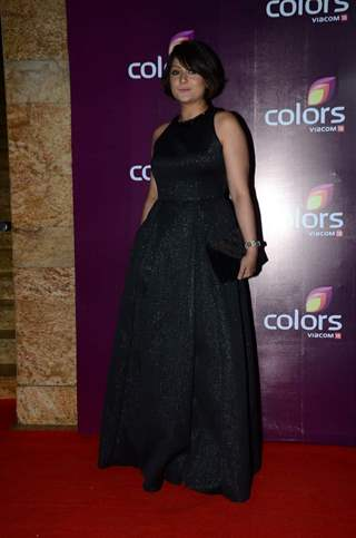 Urvashi Dholakia at Color's Party