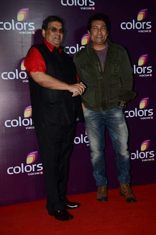Shekhar Suman And Subhash Ghai at Color's Party