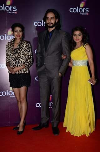 Neha Marda, Siddharth Arora, Akanksha Singh at Color's Party