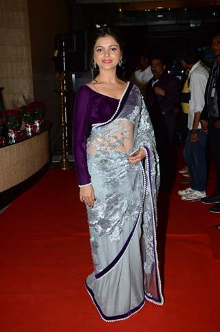 Rubina Dilaik at Dadasaheb Phalke Film Foundation Award