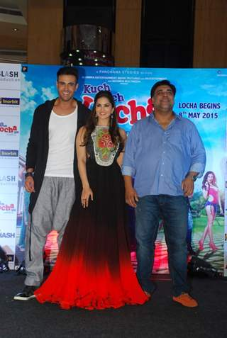 Sunny Leone, Ram Kapoor and Navdeep Chhabra Promoting Kuch Kuch Locha Hai