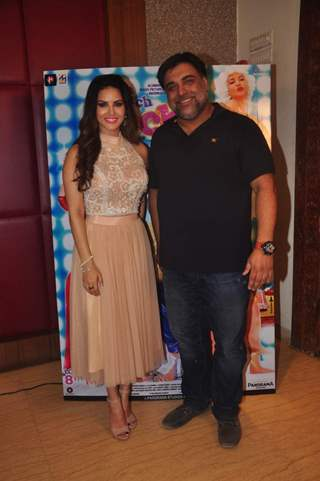 Ram Kapoor and Sunny Leone at Promotions of Kuch Kuch Locha Hai