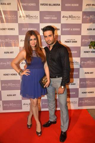 Vabhiz Dsena and Vivian Dsnea at Launch of Amy Billimoria and Pankti Shah's Store