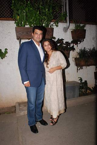 Siddhart and Vidya at Special Screening of Hamari Adhuri Kahani