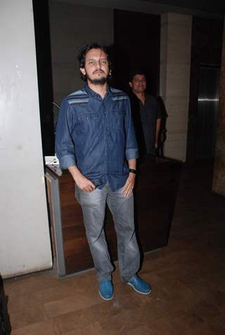 Vishesh Bhatt poses for the media at the Special Screening of Hamari Adhuri Kahani
