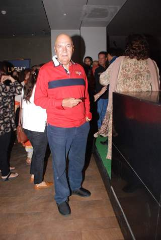Prem Chopra at Screening of Hamari Adhuri Kahani