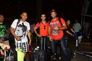 Kushal Punjabi and Chetan Hansraj Snapped at Airport