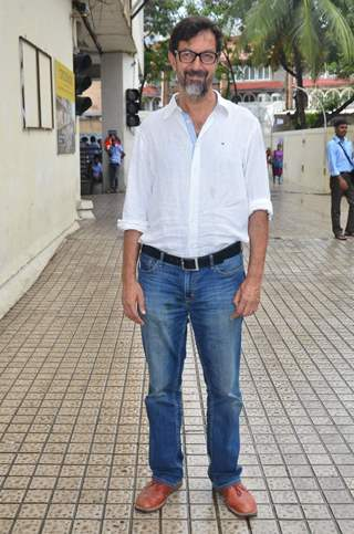 Rajat Kapoor at the Press Conference of Drishyam