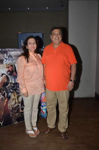 David Dhawan at Screening of Bahubali