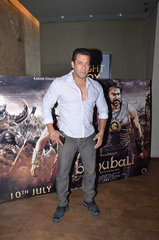Salman Khan at Screening of Bahubali