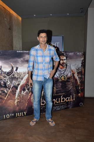 Niketan Mahdok at Screening of Bahubali
