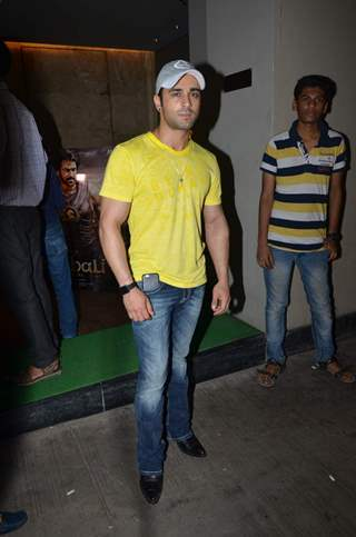 Pulkit Samrat at Screening of Bahubali