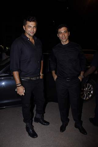 Chetan Hansraj and Kushal Punjabi at an Iftar Party Organised by an NGO