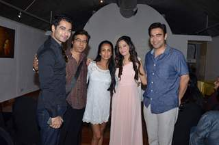 Be Intehaan Team Promotes Preetika Rao's New Music Video