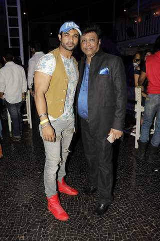 Manik Soni with Mohammad Nazim at the Anniversary Celebration