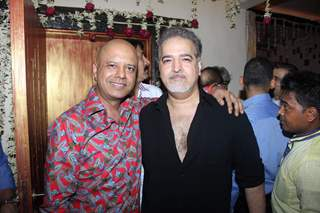 Ravi Behl and Naved Jaffery at Javed Jaffery's Eid Bash!
