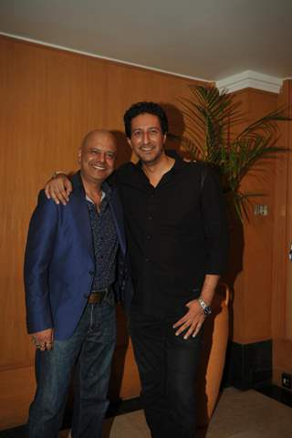 Sulaiman Merchant and Naved Jaffery at Khazana Gazal Festival - Day 2