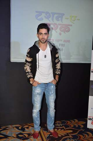 Zain Imam at Launch of Zee TV's New Show 'Tashan-e-Ishq'