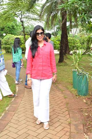Sakshi Tanwar at at Tree Plantation Event