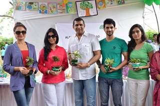 Sakshi Tanwar and Monica Bedi at at Tree Plantation Event