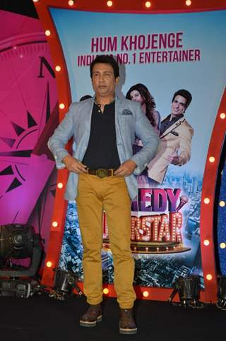 Shekhar Suman at Launch of SAB TV's New Show Comedy Superstars