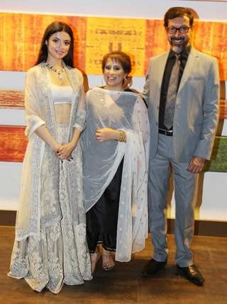 Divya Khosla, Guneet Monga and Rajat Kapoor at Globe Silicon Valley Award Function