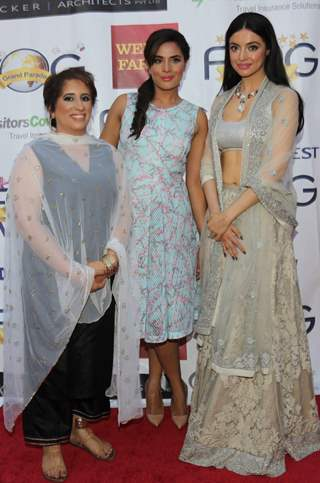 Divya Khosla, Guneet Monga and Richa Chadda at Globe Silicon Valley Award Function