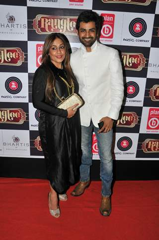 Poonam Goel and Manish Goel at Richa Sharma's Album Launch