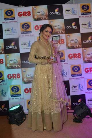 Aasiya Kazi at GR8 ITA Awards
