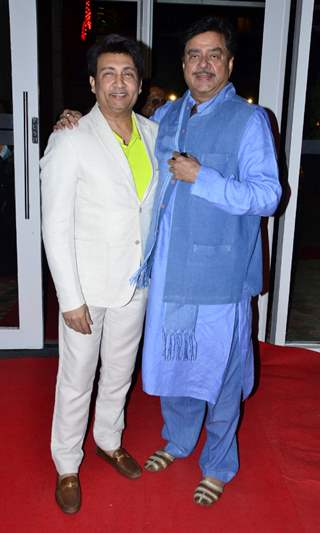 Shekhar Suman and Shatrughan Sinha at Finale of 24th Miss India Worldwide 2015