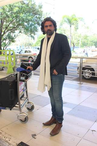Mukul Dev Snapped at Airport