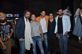 Mukul Dev, Jaideep Ahlawat and Aakash Dahiya at Premiere of Perfect Girl